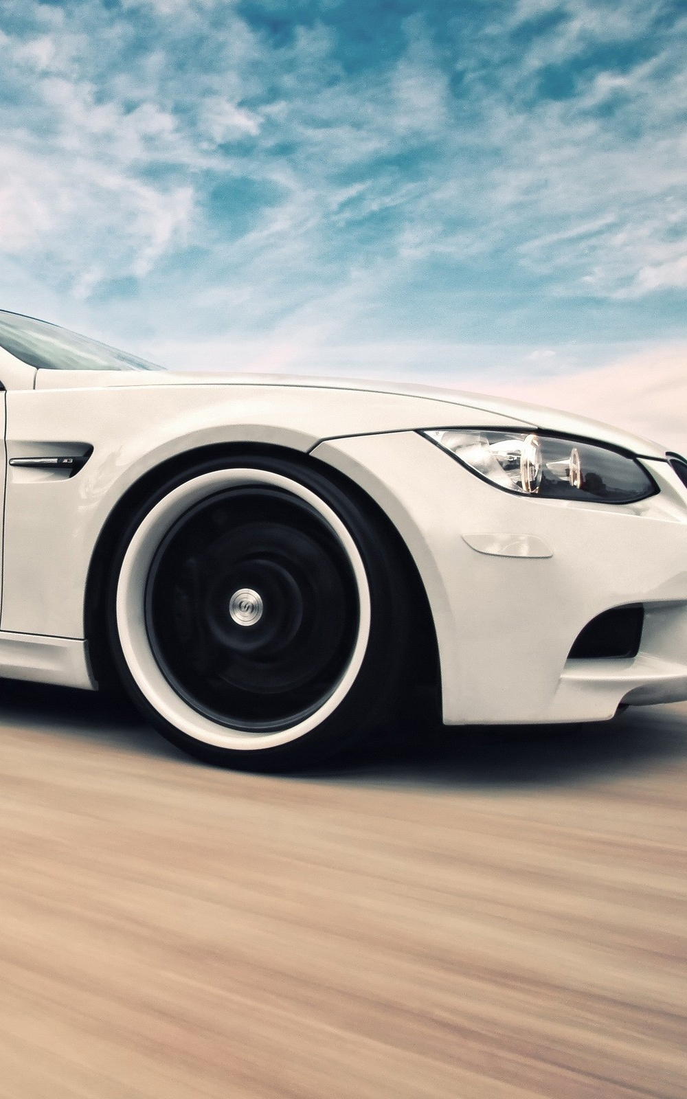 Bmw M3 White Super Car Wallpaper Ios Wallpapers And