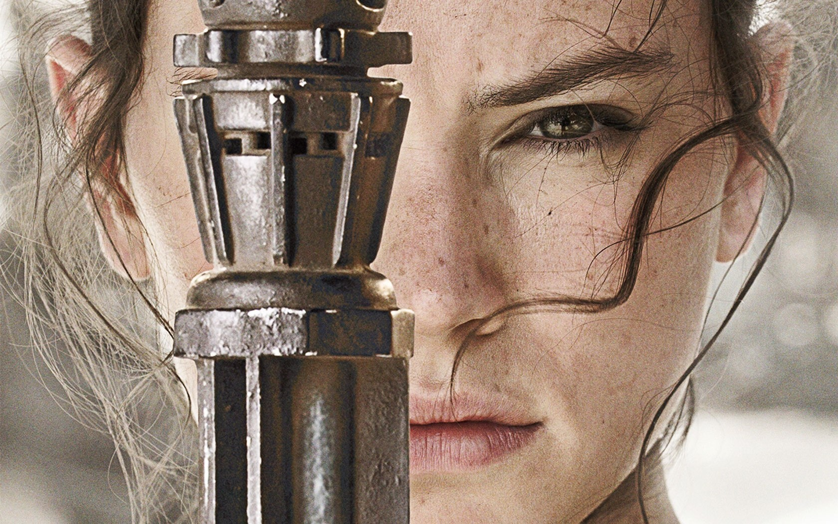 Download Daisy Ridley As Rey Star Wars The Force Awakens Wallpaper
